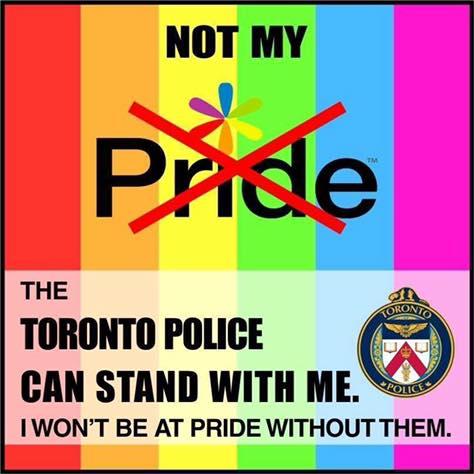 Pride Toronto bans Toronto Police