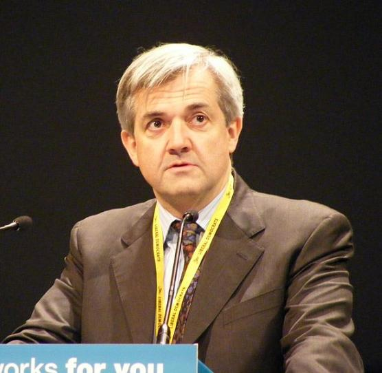 Chris Huhne British MP Liberal Democrat Open Letter