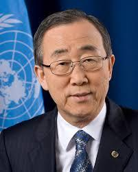 Mr. Ban Ki-moon Secretary General of the UNO