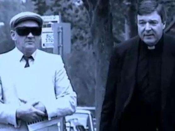 George Pell with Gerald Ridsdale