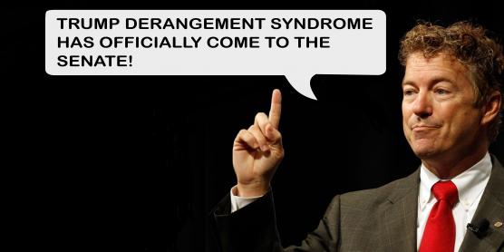 Rand Paul's Trump Derangement Syndrome Diagnosis